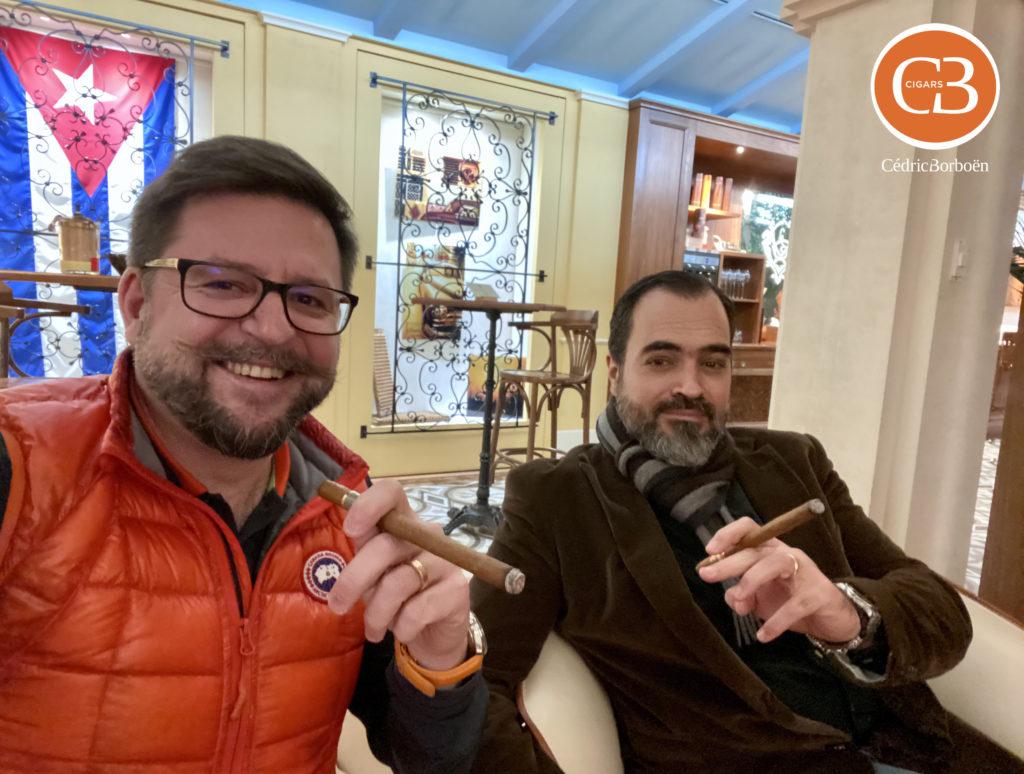CB Cigars Cédric et Palmo